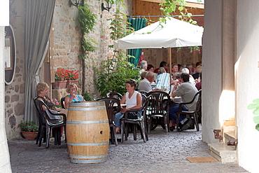 Everyday life, Freinsheim, Reinland-Palatinate, Germany, Europe