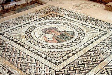 Eustolios House, Kurion Ancient site, Cyprus Island, Greece, Europe