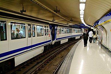 Subway, Madrid, Spain, Europe