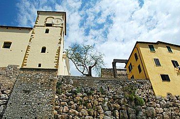 Cyclopean masonry, Sermoneta, Lazio, Italy