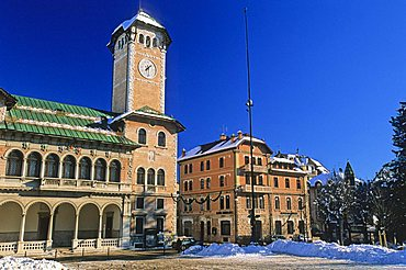 Municipal palace, Asiago, Veneto, Italy