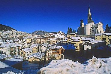Foreshortening, Enego, Veneto, Italy