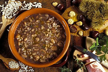Chestnuts soup, Italy