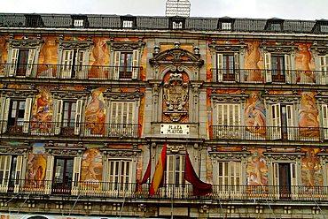 Casa de la Panadería, Plaza Mayor, Madrid, Spain, Europe