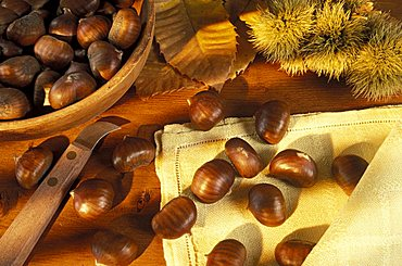 Chestnuts, Italy