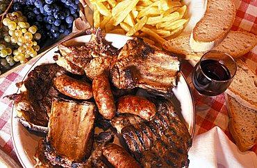 Mixed grill, Italy