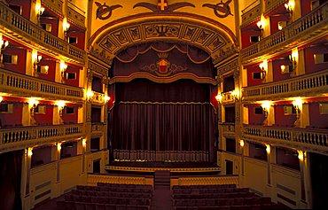 Teatro Mercadante, Naples, Campania, Italy