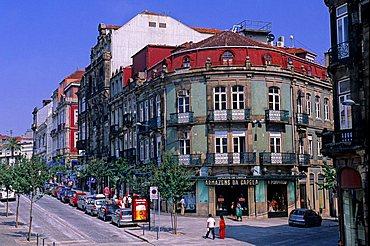Foreshortening, Porto, Portugal, Europe