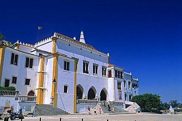 Palacio Nacional, Sintra, Portugal, Europe