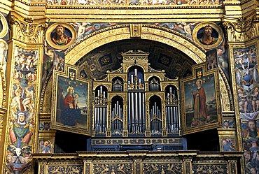 Altar, Incoronata church, Lodi, Lombardy, Italy