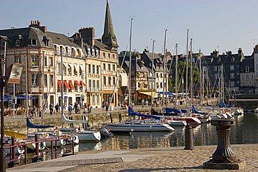 Harbour, Honfleur, Normandy, France, Europe