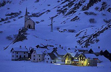 Village, Riale, Val Formazza, Piedmont, Italy
