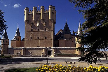 Alcazar, Segovia, Castile-Leon, Spain, Europe