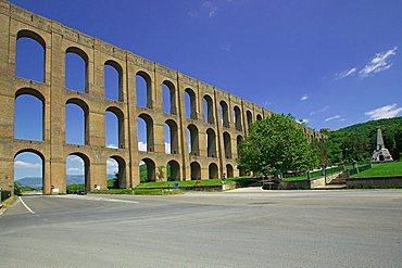 Carolino aqueduct, Maddaloni valley, Caserta, Campania, Italy