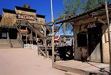Goldfield ghost town, Arizona, United States of America, North America