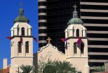 Foreshortening, Phoenix, Arizona, United States of America, North America