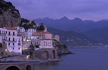Landscape, Atrani, Campania, Italy