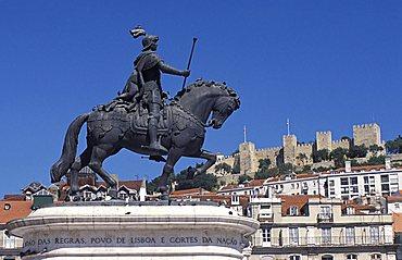 Praça de Figueira, Lisbona, Portugal, Europe