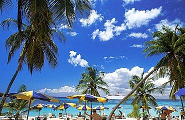 Beach, Catalina island, Dominican Republic, West Indies, Central America