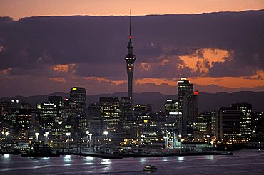 Cityscape, Auckland, North Island, New Zealand, Pacific
