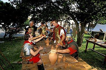 Centuriazione Romana feast, Villadose, Veneto, Italy