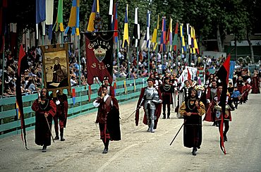 Historical procession, Ferrara, Emilia-Romagna, Italy