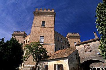 Castle, Bosco della Mesola, Emilia-Romagna, Italy