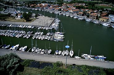Garibaldi port, Ferrara, Emilia-Romagna, Italy
