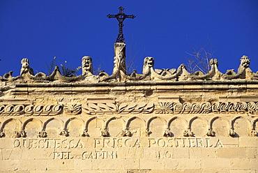 Particular, Postierla palace, Vizzini, Sicily, Italy
