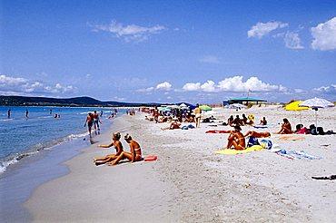 Le Dune beach, Sant'Anna Arresi, Sardinia, Italy