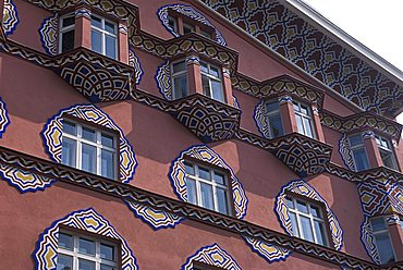 Palace in Secessionist style, Ljubljana, Slovenia, Europe