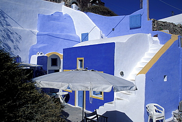 House, Oia, Santorini island, Greece, Europe