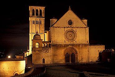 San Francesco church, Assisi, Umbria, Italy