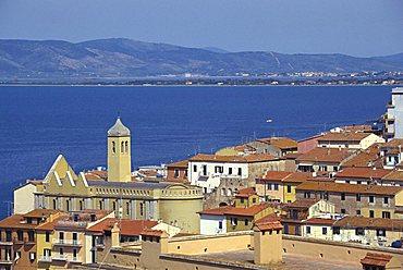 Cityscape, Porto Santo Stefano, Tuscany, Italy