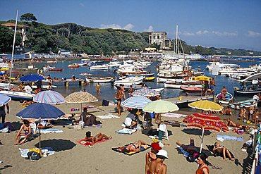 Beach, Castiglioncello, Tuscany, Italy