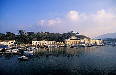 Promenade,  Ischia island, Campania, Italy