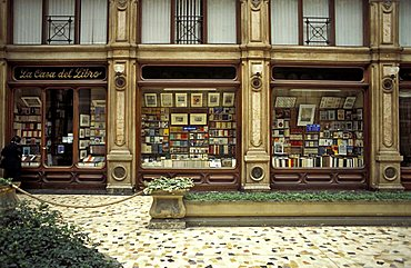 Bookshop, Subalpina gallery, Turin, Piedmont, Italy