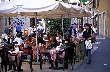 Palestro street, Brescia, Lombardy, Italy.