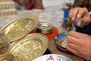 Handicrafts, Hammamet, Tunisia, North Africa, Africa