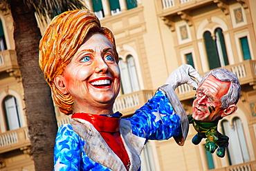 Carnival 2008, Viareggio, Tuscany, Italy, Europe