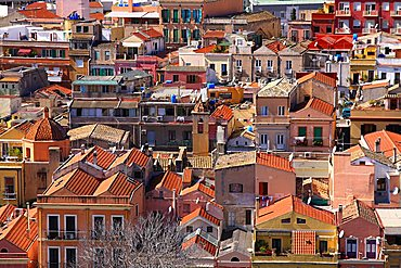 Stampace quarter, Cagliari, Sardinia, Italy, Europe
