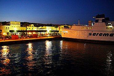 Harbour, Carloforte, Sardinia, Italy, Mediterranean, Europe