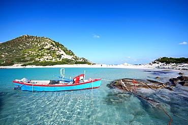 Punta Molentis cape, Villasimius, Sardinia, Italy, Mediterranean, Europe