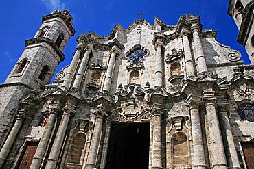 Catedral de San Cristobal, Havana, Cuba, West Indies, Central America