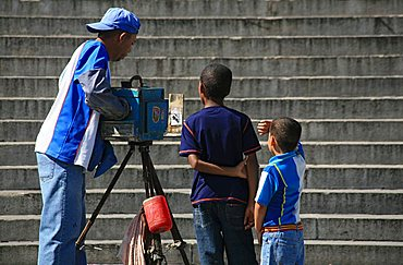 Photographer, Havana, Cuba, West Indies, Central America