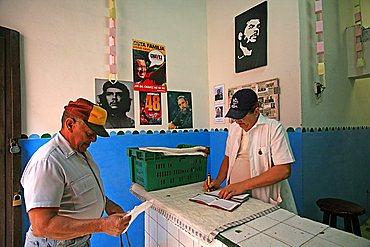 Cooperative store, Havana, Cuba, West Indies, Central America