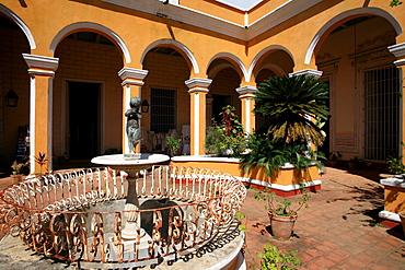 Courtyard, Palacio Cantero, Trinidad, Cuba, West Indies, Central America