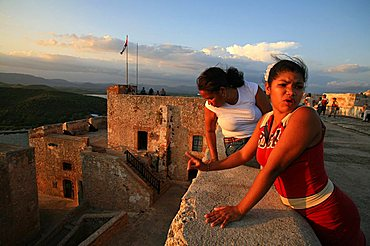 Castle of Morro (Castillo del Morro), Santiago de Cuba, Cuba, West Indies, Central America