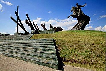 Antonio Maceo monument, Santiago de Cuba, Cuba, West Indies, Central America
