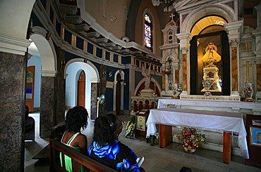 Virgen de la Caridad del Cobre sanctuary, Santiago de Cuba, Cuba, West Indies, Central America